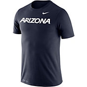 Nike Men's Arizona Wildcats Navy Dri-FIT Cotton Word T-Shirt