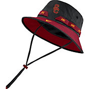 Nike Men's USC Trojans Black Dri-FIT Sideline Bucket Hat