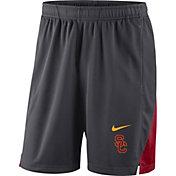 Nike Men's USC Trojans Grey Franchise Shorts