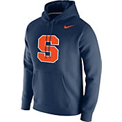 Nike Men's Syracuse Orange Blue Club Fleece Pullover Hoodie