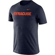 Nike Men's Syracuse Orange Blue Dri-FIT Cotton Word T-Shirt