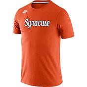 Nike Men's Syracuse Orange Orange Tri-Blend Retro T-Shirt