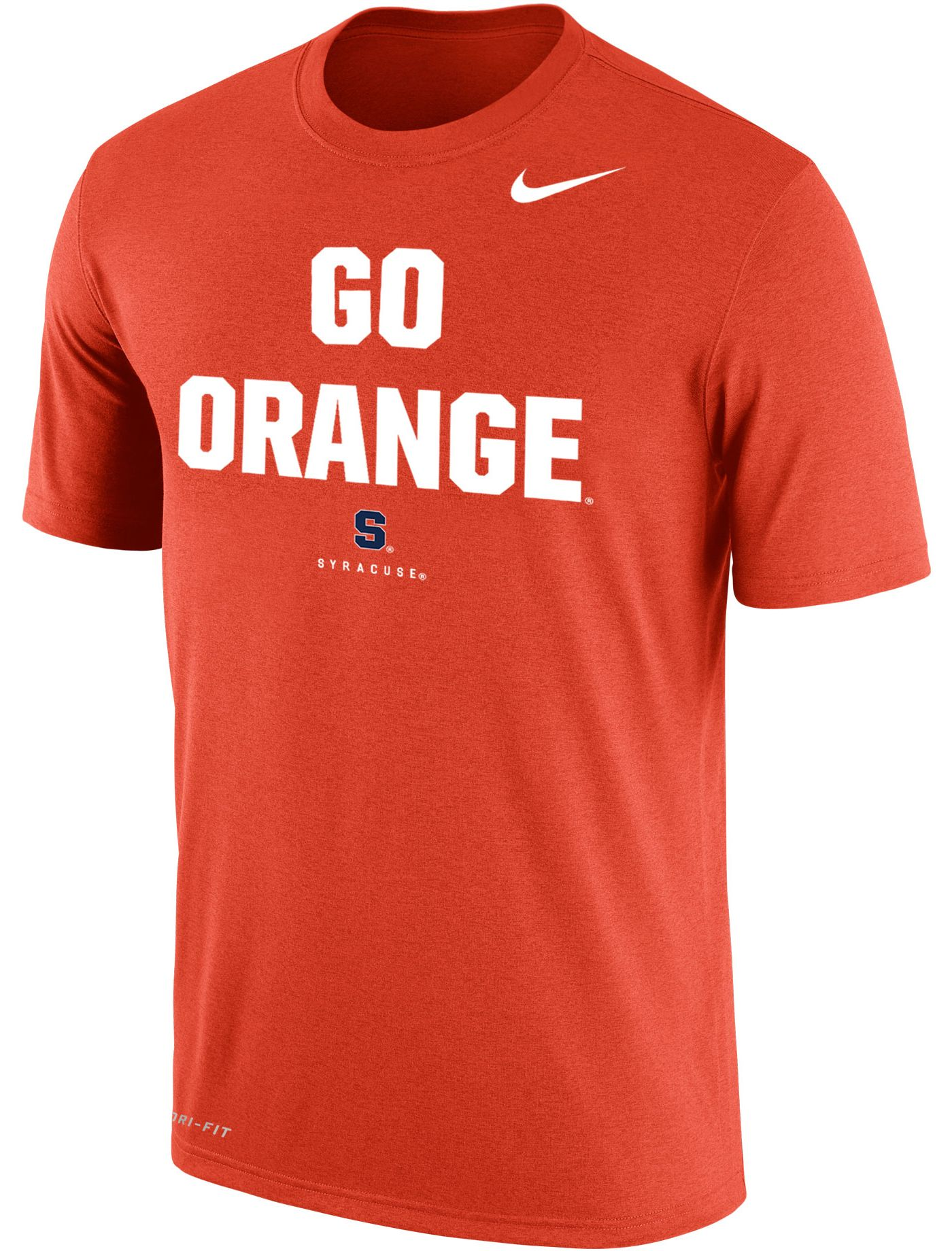 Nike Men's Syracuse Orange Orange Dri-FIT Phrase T-Shirt