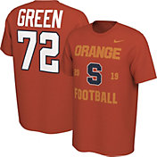 Nike Men's Tim Green Syracuse Orange #72 Orange Out T-Shirt