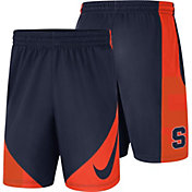 Nike Men's Syracuse Orange Orange Basketball Dry HBR Shorts