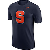 Nike Men's Syracuse Orange Blue Dri-FIT Logo T-Shirt