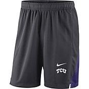 Nike Men's TCU Horned Frogs Grey Franchise Shorts