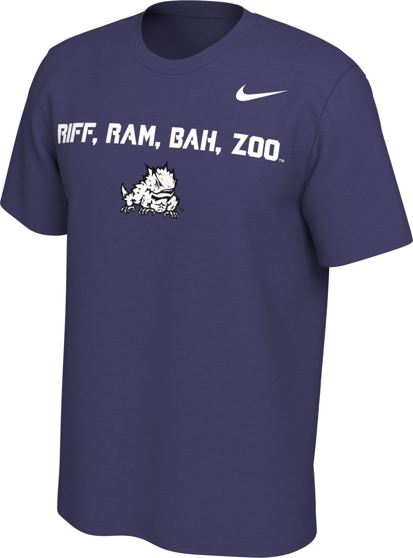 Nike Men's TCU Horned Frogs Purple Mantra T-Shirt
