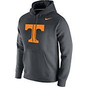 Nike Men's Tennessee Volunteers Grey Club Fleece Pullover Hoodie