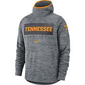 Nike Men's Tennessee Volunteers Grey Spotlight Pullover Basketball Hoodie