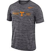 Nike Men's Tennessee Volunteers Grey Velocity 'Rocky Top' Football T-Shirt