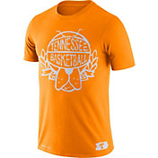 Nike Men's Tennessee Volunteers Tennessee Orange Dry Crest Basketball T-Shirt
