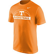 Nike Men's Tennessee Volunteers Tennessee Orange Dri-FIT Cotton Basketball T-Shirt