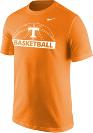 5666cd715 Nike Men's Tennessee Volunteers Tennessee Orange Dri-FIT Cotton  Basketball T