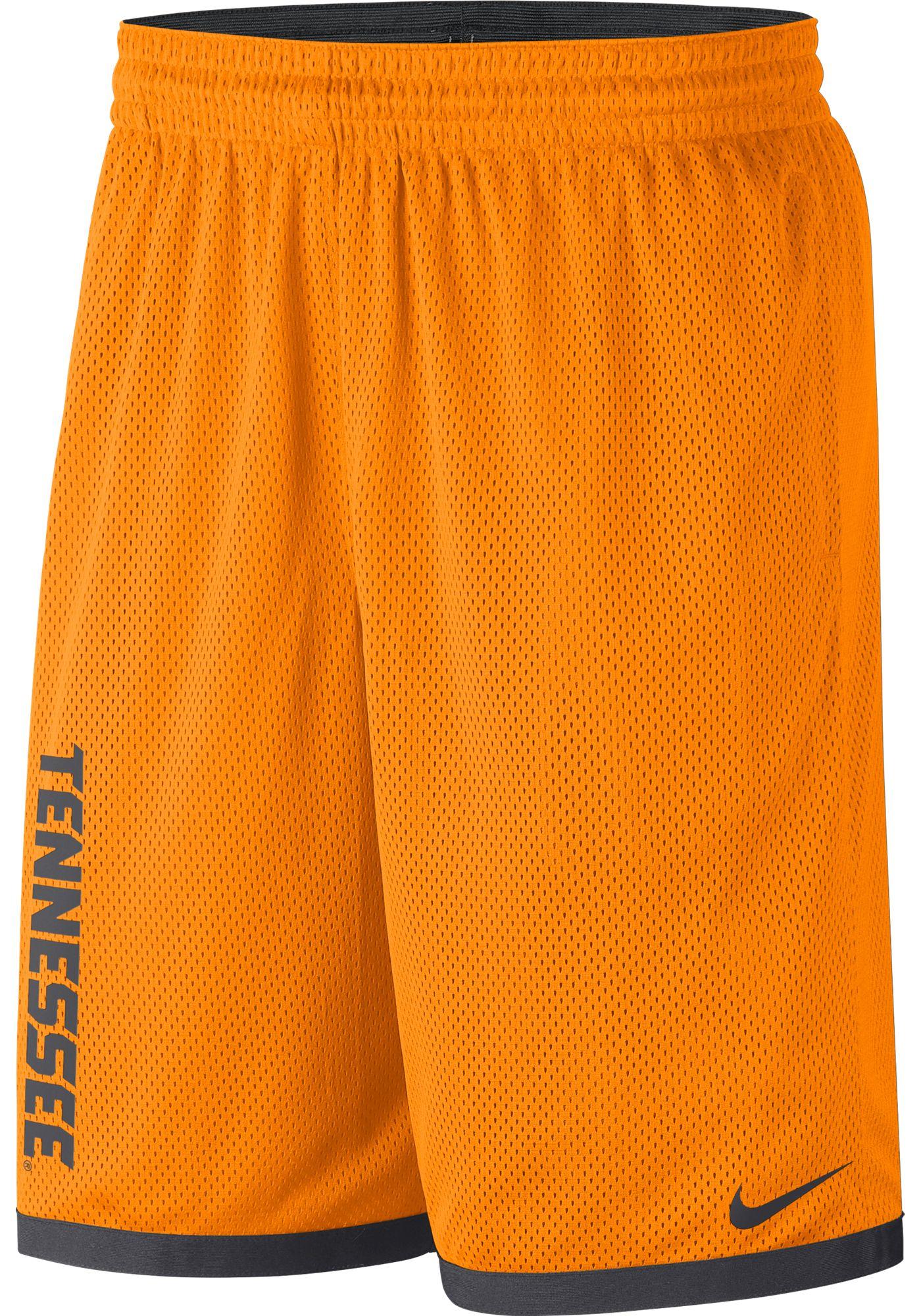 Nike Men's Tennessee Volunteers Tennessee Orange Dri-FIT Mesh Basketball Shorts