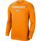 Nike Men's Tennessee Volunteers Tennessee Orange Dri-FIT Spotlight Long Sleeve Basketball T-Shirt
