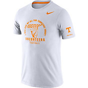 Nike Men's Tennessee Volunteers Dri-FIT Rivalry Football Sideline White T-Shirt