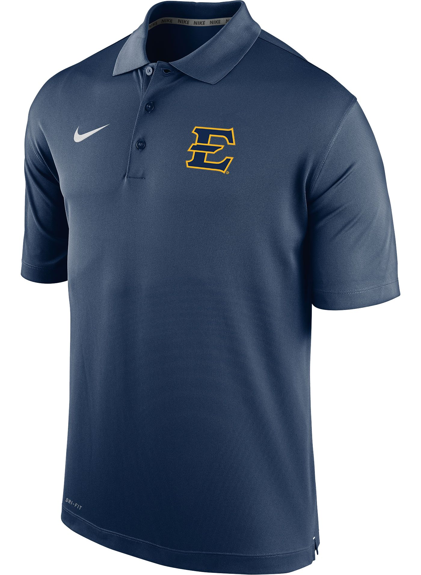 Nike Men's East Tennessee State Buccaneers Navy Varsity Polo