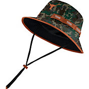 Nike Men's Texas Longhorns Camo Dri-FIT Sideline Bucket Hat