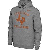 Nike Men's Texas Longhorns Grey 'Longhorn State of Mind' Local Pullover Hoodie