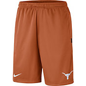 Nike Men's Texas Longhorns Burnt Orange Dri-FIT Coach Shorts
