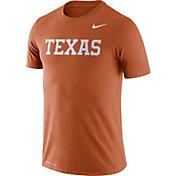 Nike Men's Texas Longhorns Burnt Orange Dri-FIT Legend Word T-Shirt