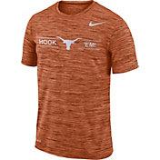 Nike Men's Texas Longhorns Burnt Orange Velocity 'Hook 'Em!' Football T-Shirt
