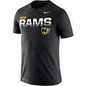 Nike Men's VCU Rams Legend Football Sideline Black T-Shirt