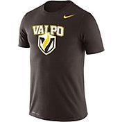 Nike Men's Valparaiso Crusaders Brown Logo Dry Legend T-Shirt