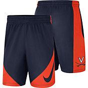Nike Men's Virginia Cavaliers Blue Basketball Dry HBR Shorts