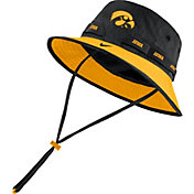 Nike Men's Iowa Hawkeyes Black Dri-FIT Sideline Bucket Hat
