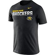Nike Men's Wichita State Shockers Legend Football Sideline Black T-Shirt