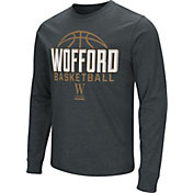 Colosseum Men's Wofford Terriers Dual Blend Long Sleeve Basketball Back T-Shirt