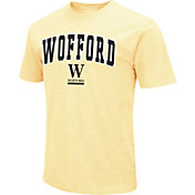Colosseum Men's Wofford Terriers Gold Dual Blend T-Shirt