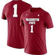 Nike Men's Klay Thompson Washington State Cougars #1 Crimson Basketball Jersey T-Shirt