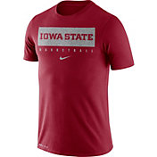 Nike Men's Iowa State Cyclones Cardinal Basketball Legend Practice T-Shirt