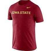 Nike Men's Iowa State Cyclones Cardinal Dri-FIT Legend Word T-Shirt