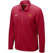Nike Men's Iowa State Cyclones Cardinal Dri-FIT Training Quarter-Zip Shirt