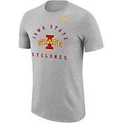 Nike Men's Iowa State Cyclones Grey Marled Raglan T-Shirt