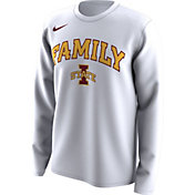 Nike Men's Iowa State Cyclones 'Family' Bench Long Sleeve White T-Shirt