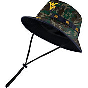 Nike Men's West Virginia Mountaineers Camo Dri-FIT Sideline Bucket Hat