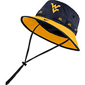 Nike Men's West Virginia Mountaineers Blue Dri-FIT Sideline Bucket Hat