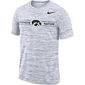 Nike Men's Iowa Hawkeyes Velocity 'Hawkeye Nation' Football White T-Shirt
