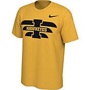 Nike Men's Iowa Hawkeyes Gold Energy Pack Stripe T-Shirt