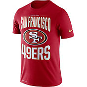 Nike Men's San Francisco 49ers Sideline Property Of Red T-Shirt