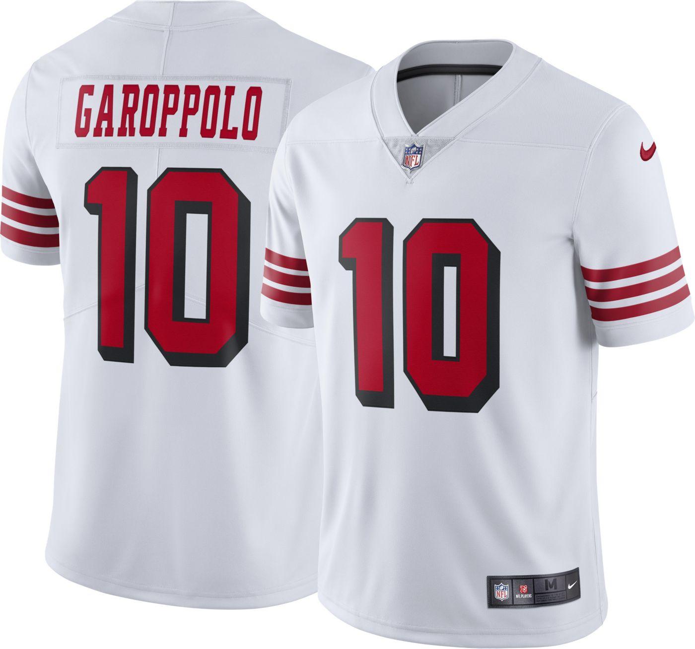 Nike Men's Color Rush Limited Jersey San Francisco 49ers Jimmy Garoppolo #10