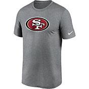 Nike Men's San Francisco 49ers Legend Logo Grey T-Shirt