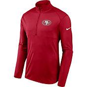 Nike Men's San Francisco 49ers Element Half-Zip Pullover