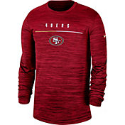 Nike Men's San Francisco 49ers Sideline Legend Velocity Red Long Sleeve Shirt