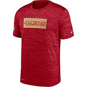Nike Men's San Francisco 49ers Sideline Legend Velocity Red T-Shirt